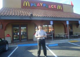 记巨天中加州麦当劳环境勘测
